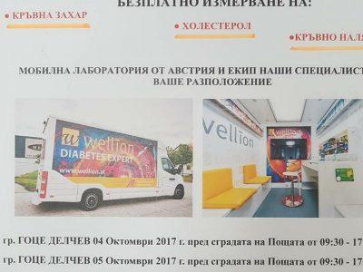 Двудневна акция за превенция на диабета организират ротарианците в град Гоце Делчев