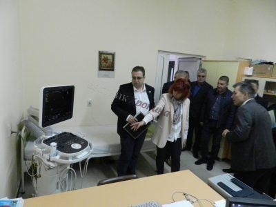 Модерен ехокардиограф дари на болницата в Гоце Делчев местният Ротари клуб