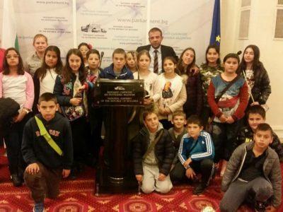 Депутатът Богдан Боцев покани ученици от Гоце Делчев в Парламента