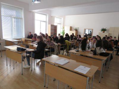Софийският университет представя академия за гражданско образование пред гимназисти в гр. Гоце Делчев