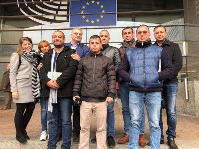 Млади социалисти от Гоце Делчев посетиха Европарламента по покана на Петър Курумбашев