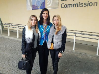 Два дни на Карина и Владислава от НПГ в Европарламента