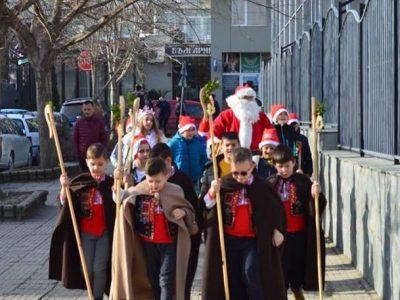 Коледна магия в Първо ОУ в град Гоце Делчев