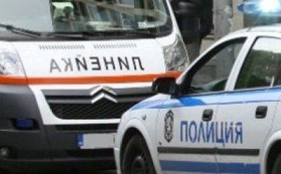Катастрофа с шестима пострадали на пътя между селата Копривлен и Садово, край Гоце Делчев