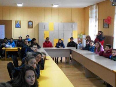 Децата от Трето ОУ в град Гоце Делчев стават посланици на здравето