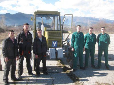 Христо Бабанов, Октай Гега  и  Димитър Чолаков от Гоце Делчев ще представят ПГ по МСС на състезание за млади фермери в град Садово