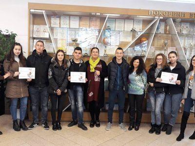 И трите отбора на НПГ от град Гоце Делчев се класираха за националния кръг на Европейската олимпиада по статистика