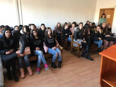 Млади хора от Гоце Делчев се интересуват как работи съдебната система в града