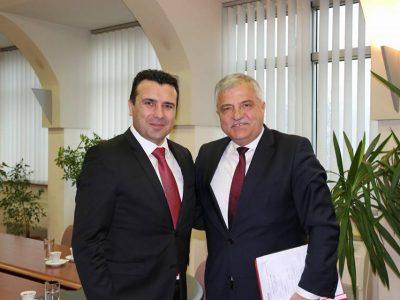Кметът на Гоце Делчев се срещна с македонския премиер Зоран Заев