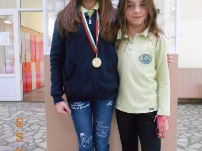 Злато и бронз за момичета от Гоце Делчев, спечелени в международно състезание по художествена гимнастика
