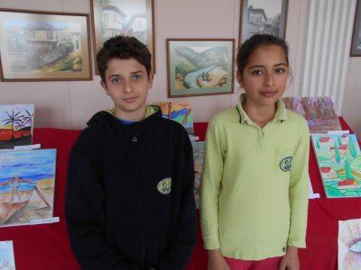 Две награди за млади художници от Гоце Делчев на международен конкурс