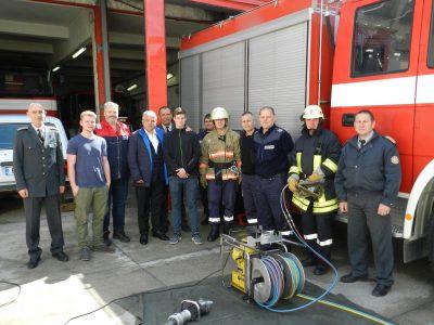 Необходима техника за Районна служба Пожарна безопасност и защита на населението осигури Община Гоце Делчев