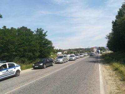 Пореден протест за скъпите горива в град Гоце Делчев