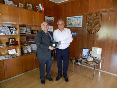 Посланикът на Република Македония се срещна с кмета на Община Гоце Делчев