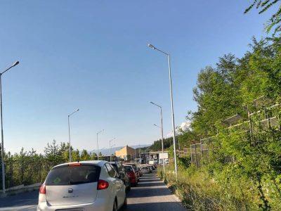 Съботно-неделни върволици на ГКПП Илинден – Ексохи