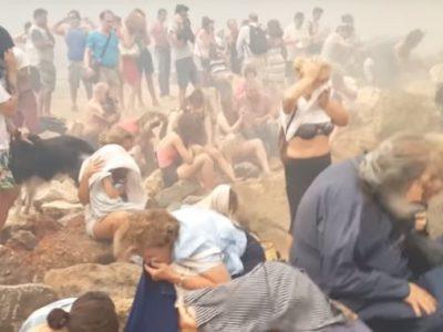 Още за най-смъртоносния пожар в историята на Гърция
