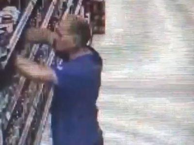 Мъж краде дамски чорапогащи от магазин в Гоце Делчев