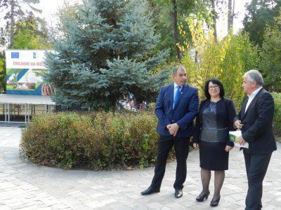 Мед, вино, сирене, колбаси и още продукти на местни производители бяха представени на специално изложение в парка на град Гоце Делчев