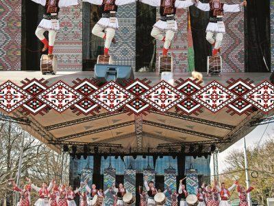 Концерт на мъжка фолклорна група «Огражденска четворка» и фолклорен ансамбъл «Гайтан» в Гоце Делчев