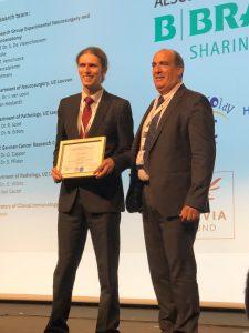 Д-р Тома Спириев с награда на името на проф. Браакман