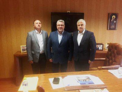 Кметът на Гоце Делчев обсъди с кметовете на Драма и Кавала нови общи проекти