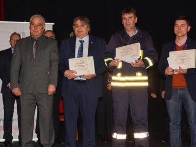 Смели мъже от Сатовча спечелиха първа награда в конкурса за доброволни пожарникари и спасители