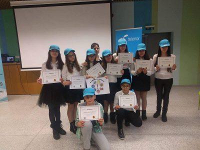 Първо място в национално състезание за безопасен интернет спечелиха киберскаутите от Второ ОУ в град Гоце Делчев