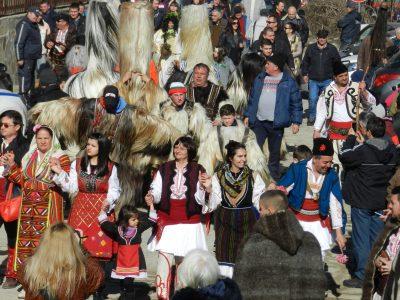Слънчев зимен фестивал в село Делчево