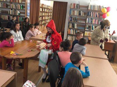 Малчугани и библиотекари от Гърмен бяха в царството на приказките