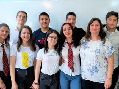 """И четирите екипа на НПГ """"Д.Талев"""" са в топ 10 на финалистите в международното състезание """" Социални иновации"""""""