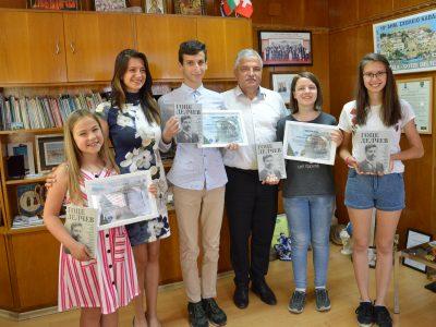 Стипендии за участие в международен космически лагер Space Camp Turkey за четирима младежи от Гоце Делчев осигури общината