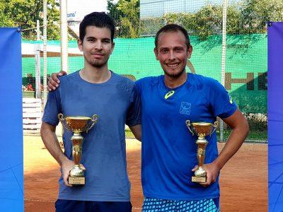 Неврокопчанинът Любен Попов триумфира с шампионската купа по тенис сред конкуренцията на 72 състезатели