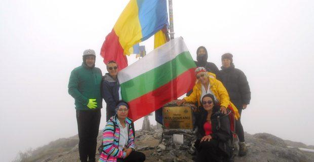 Неврокопчани развяха българското знаме в румънските Карпати