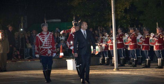 Президентът Румен Радев поздрави жителите на Гоце Делчев по повод 107 години от освобождението на града