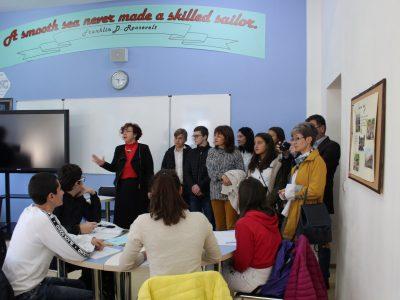 """Училища от Гоце Делчев обмениха добри практики по националната програма  """"Иновации в действие"""""""