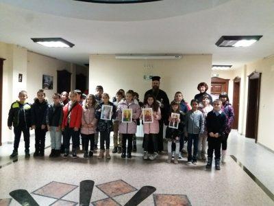 Деца от Гоце Делчев гостуваха на митрополит Серафим
