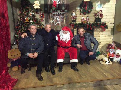 Среща с дядо Коледа в Драма