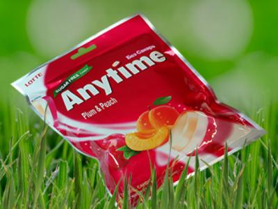 Вкусни бонбони без захар  Lotte Anytime