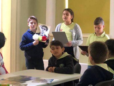 Четвъртокласници от Гоце Делчев на урок по родолюбие