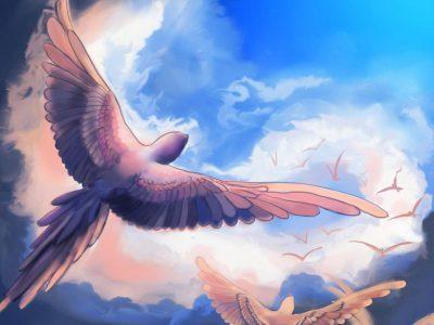 Любопитен тест със синята птица