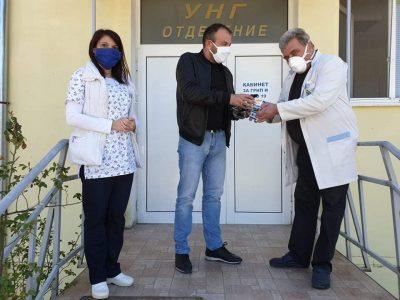 Народният представител Богдан Боцев направи второ дарение за болницата в родния си град и се зарече още да помага