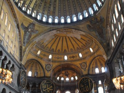 """За храма """"Света София"""", обявен за музей от Ататюрк и превърнат отново в джамия от Ердоган"""