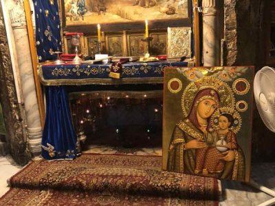 Осветено копие на чудотворната Витлеемска Света Богородица пристига в град Гоце Делчев
