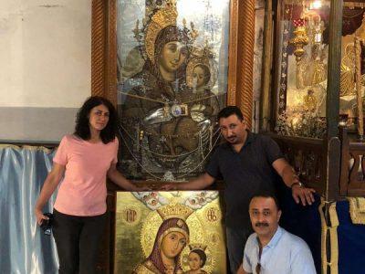 Дар за Неврокопската епархия беше осветен на празника Вяра, Надежда и Любов във Витлеем
