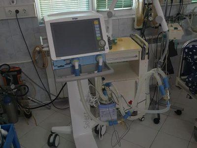 Един от големите строителни предприемачи Руен Кирев дари респираторен апарат за болницата в Гоце Делчев