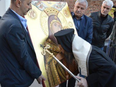 Чудотворната икона на Света Богородица от Витлеем ще закриля християните в Гоце Делчев