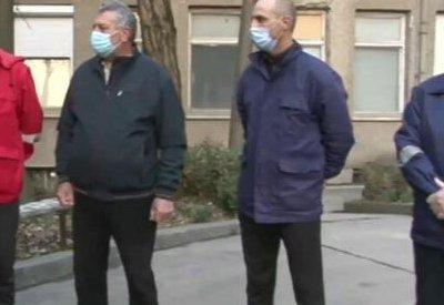 Шофьори от Бърза помощ в Гоце Делчев протестират заради неполучено допълнително заплащане за работещи с Ковид болни