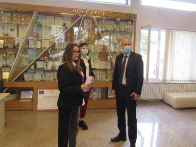 Министърът на образованието и науката бе на обиколка в училища в гр. Гоце Делчев