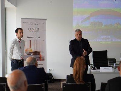 Представители на Софийския университет, местните власти и частния сектор дискутираха добри практики за партньорство между образованието и бизнеса в Гоце Делчев