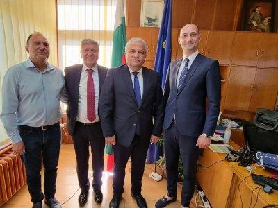 Кметът на Гоце Делчев се срещна с колегите си кметове на Кочани и Щип
